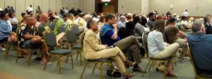 Audience in attendance at Public Safety Forum