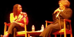 Sherrilyn Ifill of the NAACP and Anna Deavere Smith, Actress/Activist.