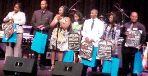 AWARDEES, with their packages.