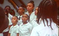 Youth of Shiloh choir.