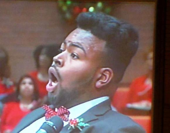 Stacy Harley, counter tenor.