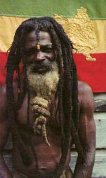 The RASTA man in Jamaica today.