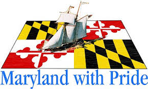Maryland with pride Logo